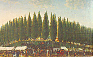 Salem Common on Training Day George Ropes Postcard p22669 (Image1)