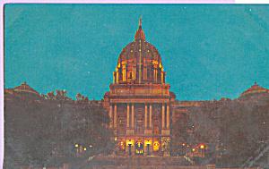 State Capitol at Night Harrisburg Pennsylvania p22691 (Image1)