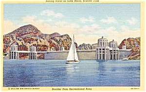 Boulder Dam Recreational Area Postcard p2269 (Image1)