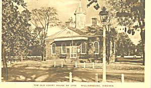Old Court House, Williamsburg,Virginia (Image1)