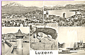 Small Views Of Lucerne Switzerland P22732