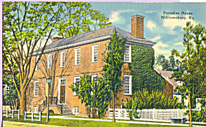 Paradise House,Williamsburg,Virginia (Image1)