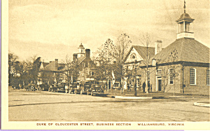 Duke of Gloucester Street,Williamsburg,Virginia (Image1)