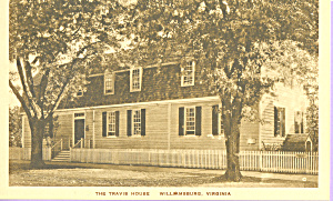 The Travis House,Williamsburg,Virginia (Image1)