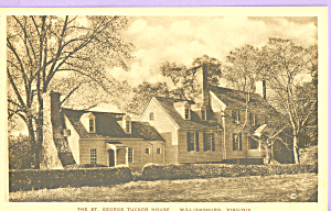 St George Tucker House,Williamsburg,Virginia (Image1)
