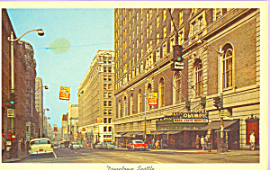 Hotel Olympic Seattle Washington Cars Of 50s P22757