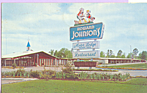Howard Johnson S Motor Lodge Rocky Mount P22767