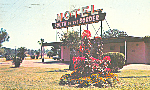 South Of The Border Motel Dillon South Carolina P22768