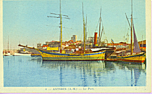 Sailing Vessels in Port at Antibes France p22831 (Image1)