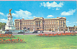 Buckinghan Palace London England Postcard p22840 (Image1)