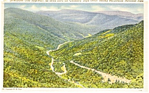 Great Smoky National Park  Postcard p2286 (Image1)