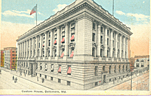 Custom House, Baltimore, Maryland (Image1)