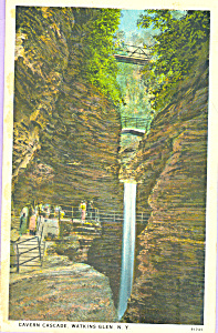 Cavern Cascade, Watkins Glen, New York (Image1)