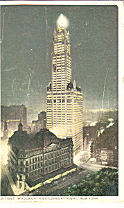 Woolworth Building at Night New York City p22919 (Image1)