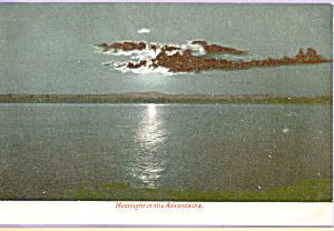 Moonlight in the Adirondacks NY p22958 (Image1)