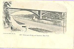 Washington Bridge and Speedway New York City p22962 (Image1)