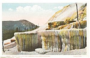 Yellowstone Park Pulpit  Postcard (Image1)