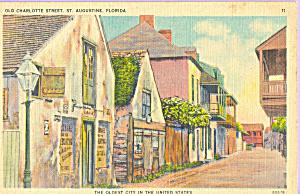 Old Charlotte Street St Augustine Florida p22981 (Image1)