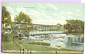 The Dam,Huron River, Ann Arbor,Michigan (Image1)
