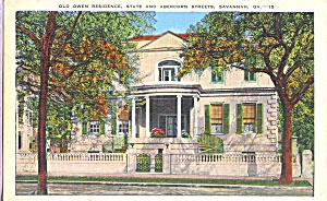 Old Owen Residence Savannah GA p23017 (Image1)