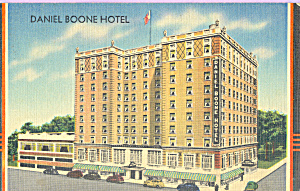 Daniel Boone Hotel Charleston West Virginia P23030