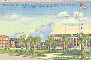 Administration Bldg Marine Barracks Parris Island p23073 (Image1)