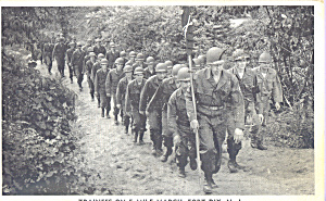 Trainees on 5 Mile March Fort Dix New Jersey p23101 (Image1)