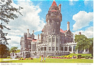 Casa Loma Toronto Canada Postcard p2314 (Image1)