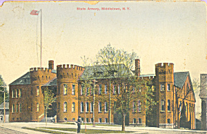 NY State Armory, Middletown New York (Image1)