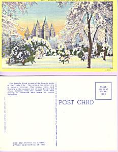 Mormon Temple Salt Lake City Utah p23172 (Image1)