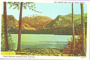 Grand Lake, Rocky Mountain National Park (Image1)