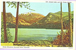Grand Lake Rocky Mountain National Park CO p23184 (Image1)