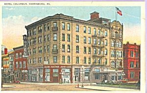 Hotel Columbus Harrisburg Pennsylvania p23195 (Image1)