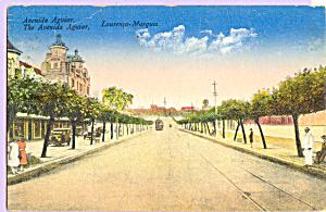 The Avenida Aguiar Laurenco Marques Mozambique p23229 (Image1)