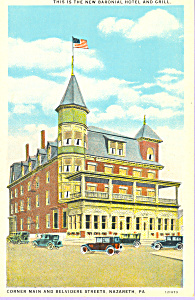 Baronial Hotel and Grill Nazareth Pennsylvania p23241 (Image1)
