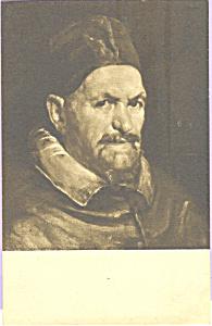 Pope Innocent X Velazquez Postcard p23267 (Image1)
