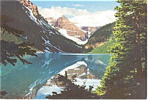 Lake Louise Banff National Park  Postcard (Image1)