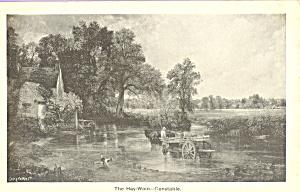 The Hay Wain John Constable Postcard p23319 (Image1)