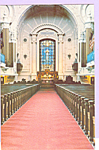 Chapel Us Naval Academy Interior Annapolis,maryland P23338