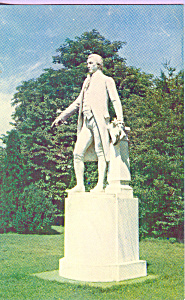 James Monroe Statue Charlottesville Virginia P23356