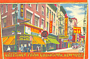 Chinatown, New York City (Image1)