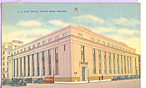 US Post Office, South Bend, Indiana (Image1)