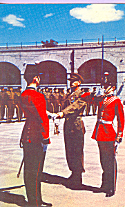 Changing Of The Guard Old Fort Henry Ontario Canada P23385