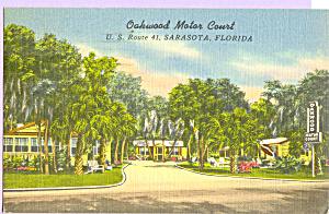 Oakwood Motor Court Sarasota Florida P23390