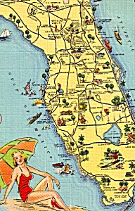 State Map Of Florida P23410