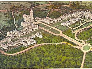 Duke University Durham NC Hand Colored Postcard p23413 (Image1)