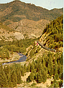 California Zephyr in Feather River Canyon (Image1)