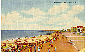 Boardwalk and Beach,Ocean Grove (Image1)