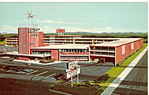 Albert Pick Motel Louisville Kentucky Postcard p23465 (Image1)