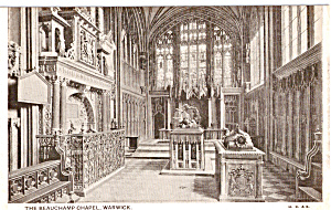 The Beauchamp Chapel Interior Warwick England  p23499 (Image1)